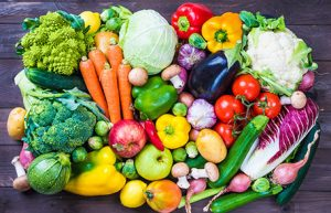 Dietician Michele Blanchet recommends plenty of vegetables.